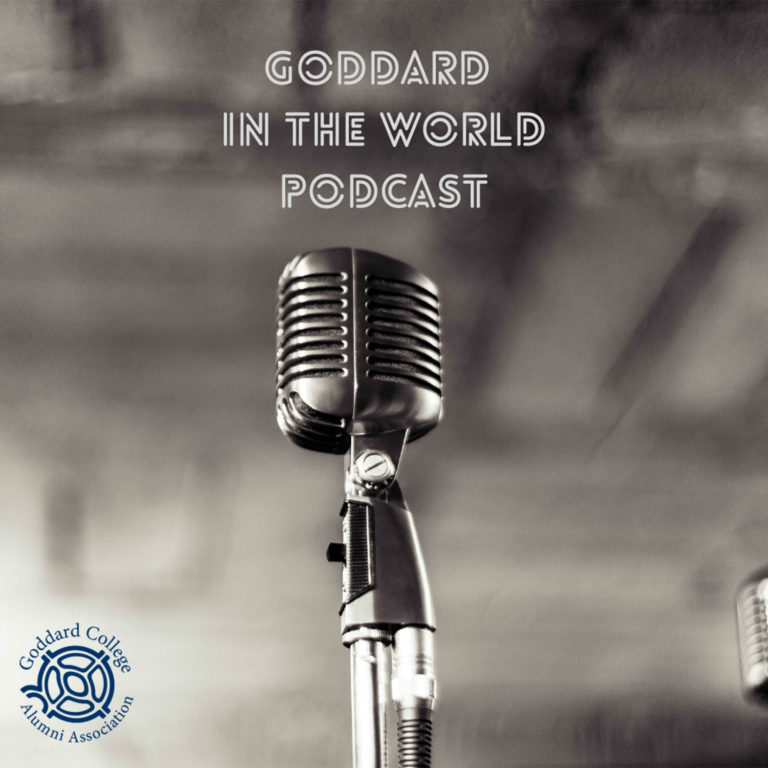 Goddard in the World Podcast Logo